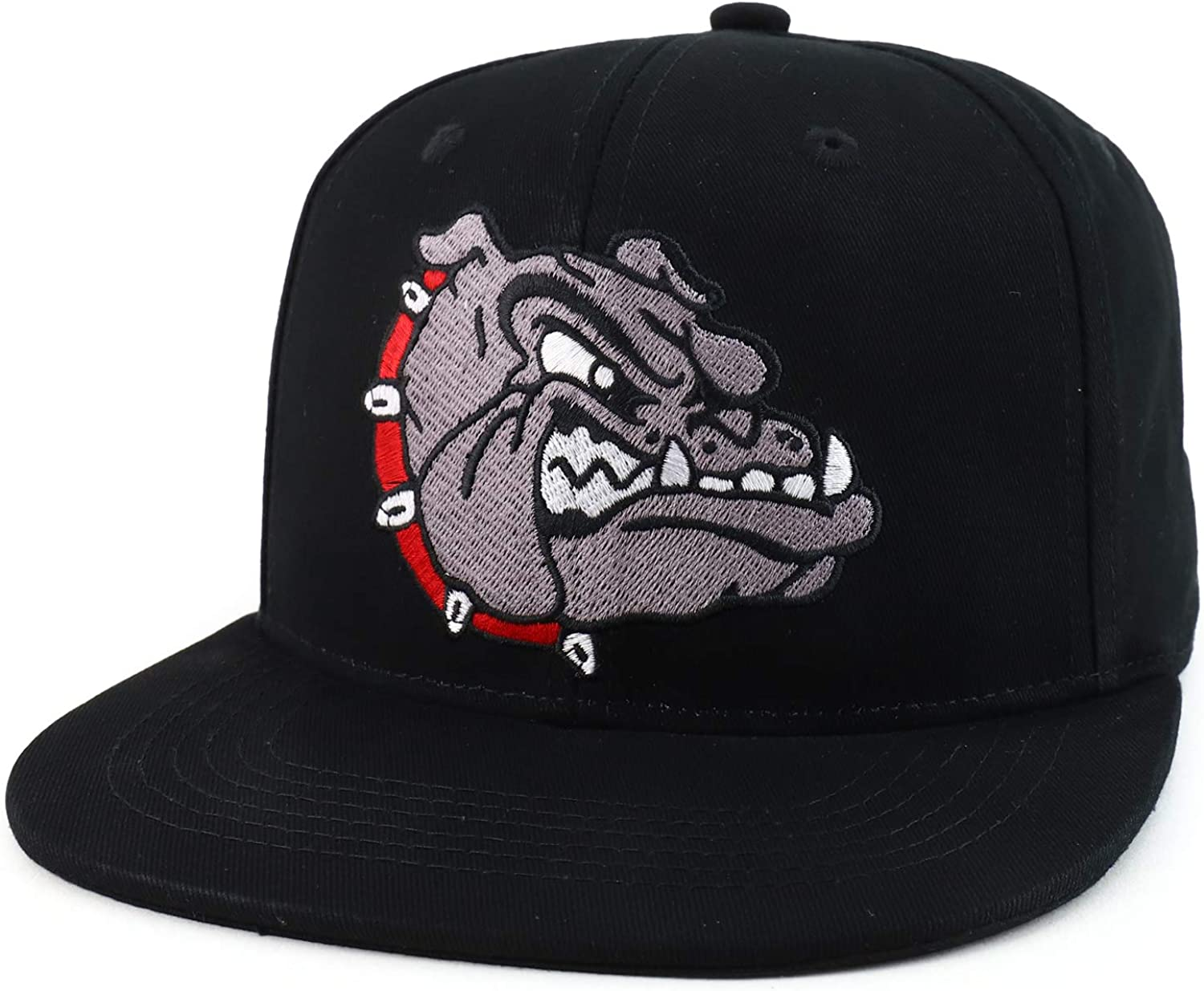 Trendy Apparel Shop Cheap bargain Super sale period limited Angry Bulldog Flatbill Head Snap Embroidered