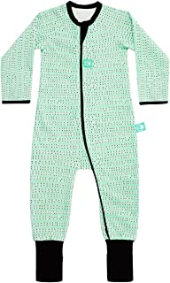 ergoPouch 1.0 TOG Layers Long Sleeve, Organic Cotton + Bamboo, 2-Way Zip Romper