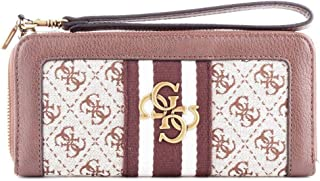 Luxury Fashion | Guess Womens SWSB7304460 Brown Wallet | Fall Winter 19