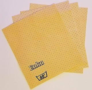 Enka Vileda Perfo Chamois Thin Flat Absorbent Sponge Cloth for Kitchen Long Lasting 100% Natural