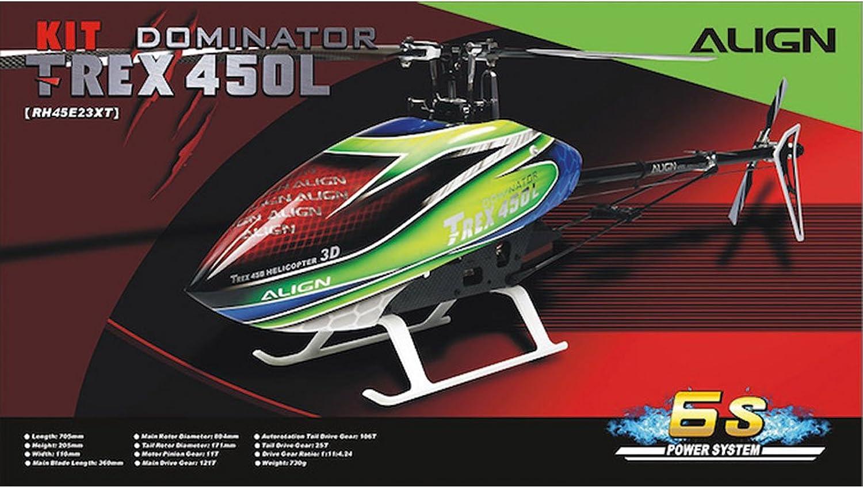 RH45E23X - ALIGN T-REX 450L Dominator Kit (6S) (inkl. Motor Regler)