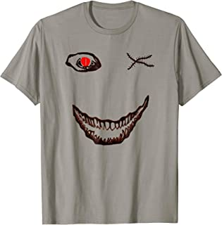 Halloween Big Scary Face One Red Eye Shirt