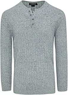 Connor Men's March Knit Silver L Cotton Polyester Blend Fit Sizes XS-5XL for Going Out Smart Casual
