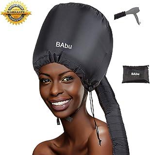 Capucha para secador de pelo, suave, ajustable, con capucha, para secador de pelo, curvado natural, con textura, máscara para el cuidado del cabello, para secar, rizar, acondicionamiento profundo