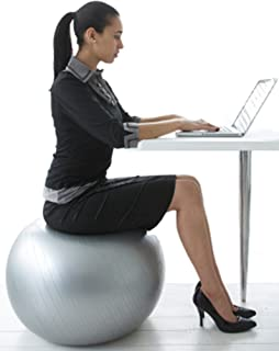 CalCore Fitness Brand Professional Physio Ball Chair for Office and Home