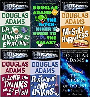 The Hitchhiker's Guide to the Galaxy (6 Book Set in the Series)