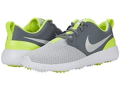 Nike Golf Roshe G (Smoke Grey/Grey Fog/White Lemon Venom) Men