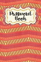 Password Book: Zigzag Design - Never Forget Your Passwords, Usernames, Logins & Websites Again Computer Password Book (Internet Password Logbook)