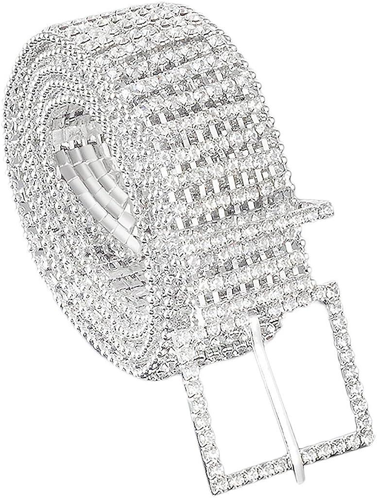 MonkeyJack 8 Row Diamante Charlotte Mall Diamond Waist Dress Cloth Regular dealer Ladies Chain