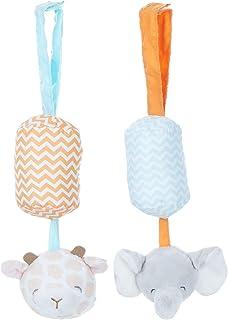 KIDS PREFERRED Carter's Giraffe and Elephant Chime Set for Babies