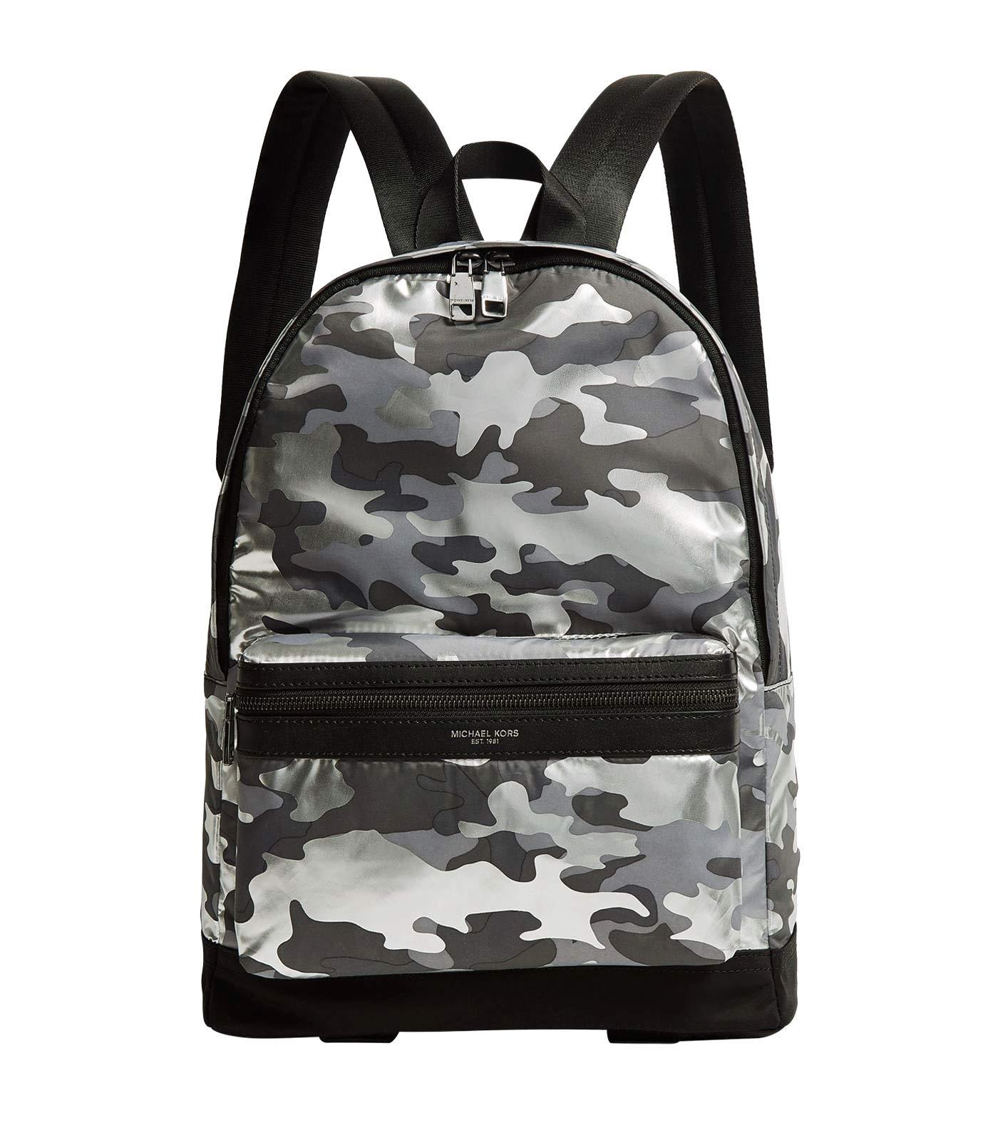MICHAEL Camouflage Backpack Silver 33S9LKNB2U