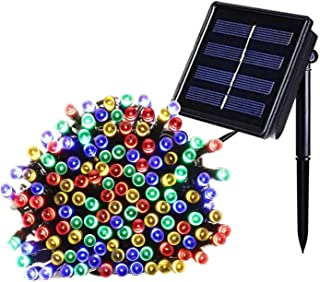 outdoor Solar Lights 12M 100 LED Colorful Fairy String Light Decorative Lighting for Home Garden Party Patio 8 Mode