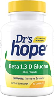 Sponsored Ad - Dr's Hope Beta 1,3D Glucan 100mg - Immune Health Booster - Gluten Free, Vegan, No Additives, Made in USA - ...