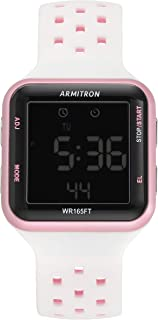 Unisex 40/8417 Digital Chronograph Silicone Strap Watch