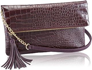 اوريفليم حقيبة للنساء-احمر انبيذي - حقائب طويلة تمر بالجسم