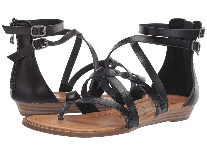 Blowfish  Bungalow B (Black Dyecut) Womens Sandals