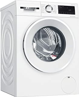 Bosch WNA14490GB Serie 6 Freestanding Washer Dryer with AutoDry, SpeedPerfect, Iron Assist, Wash & Go 60 and AllergyPlus, 9kg/6kg load, 1400rpm spin, White
