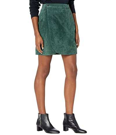 Blank NYC Real Suede Wrap Skirt (Wall Flower) Women