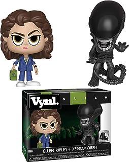 Funko Vynl: Alien 40th: Xenomorph & Ripley with Tracke Figure, Multicolor