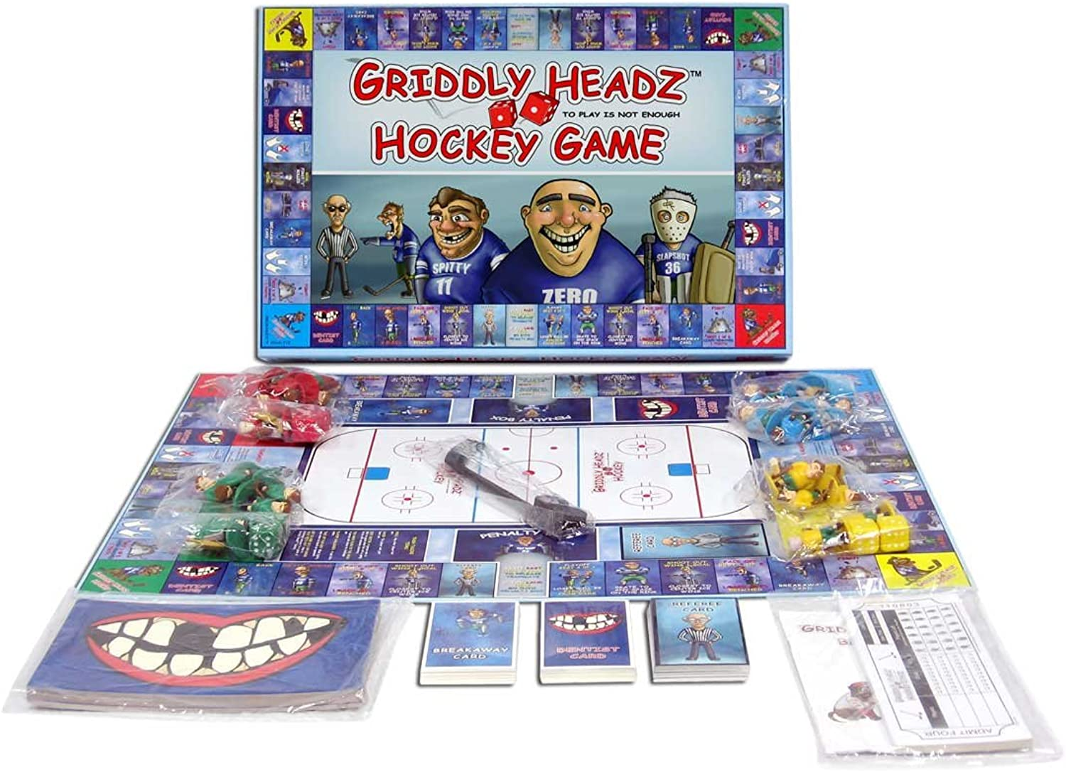 Griddly Games F6000156 Headz Hockey Family Fun Strategy Game