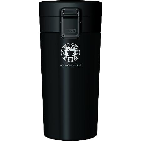 アスベル 真空断熱携帯タンブラー 370ml ブラック