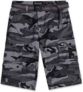 Ecko Unltd. Cargo Shorts for Men - Mens and Big and Tall Twill Cargo Shorts with Belt - ECKO