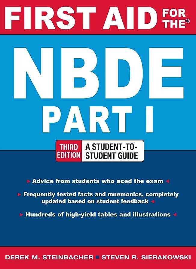 素朴な黒汚れるFirst Aid for the NBDE Part 1, Third Edition (First Aid Series) (English Edition)