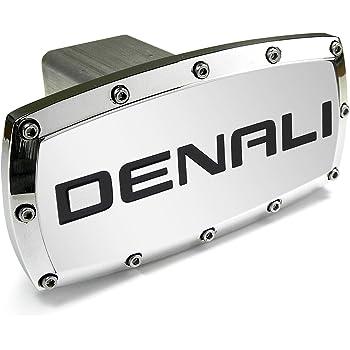 General Motors GMC Denali Oval Aluminum Metal Tow Hitch Cover Elite