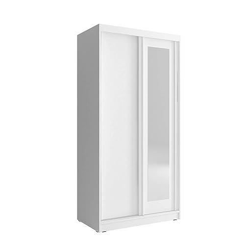 Single White Wardrobe Amazon Co Uk