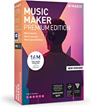 MAGIX Music Maker - 2019 Premium Edition - MORE Power. MORE Loops. MORE Creative Possibilities