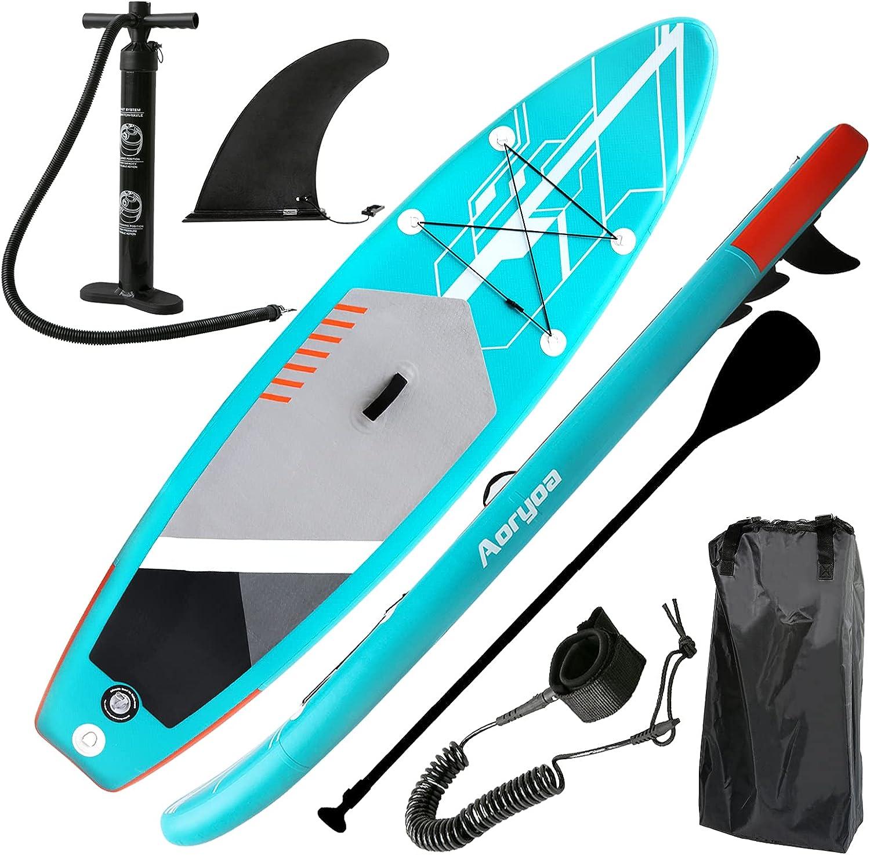 Aoryoa Stand Up Paddle Board Padd 10'6 Inflatable Las Vegas Mall ×32