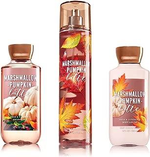Bath & Body Works Marshmallow Pumpkin Latte Mist/Lotion/Shower Gel Trio Set