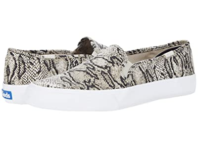 Keds Double Decker Snake (Cream/Black) Women