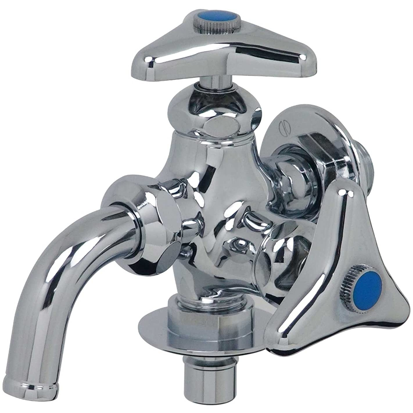 溶かす地殻クリークカクダイ 洗濯機用双口水栓 704-108-13