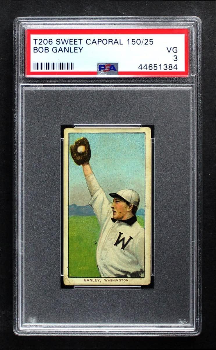 1909 T206 Bob Ganley Washington Baseball Department store PSA mart Card Senators