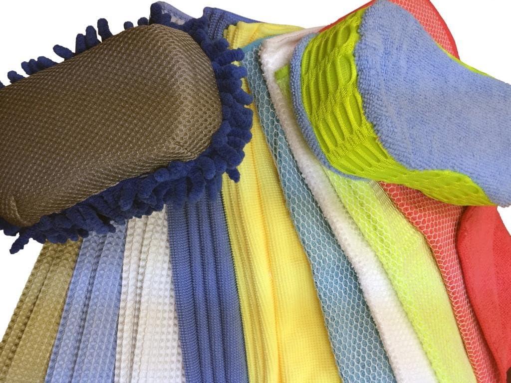 Atlas 36-Pack Microfiber Cleaning Cloths - Assortment Pack #C511