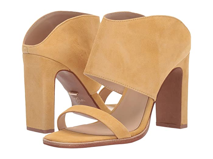 42 GOLD  Linx (Yellow Suede) Womens Sandals