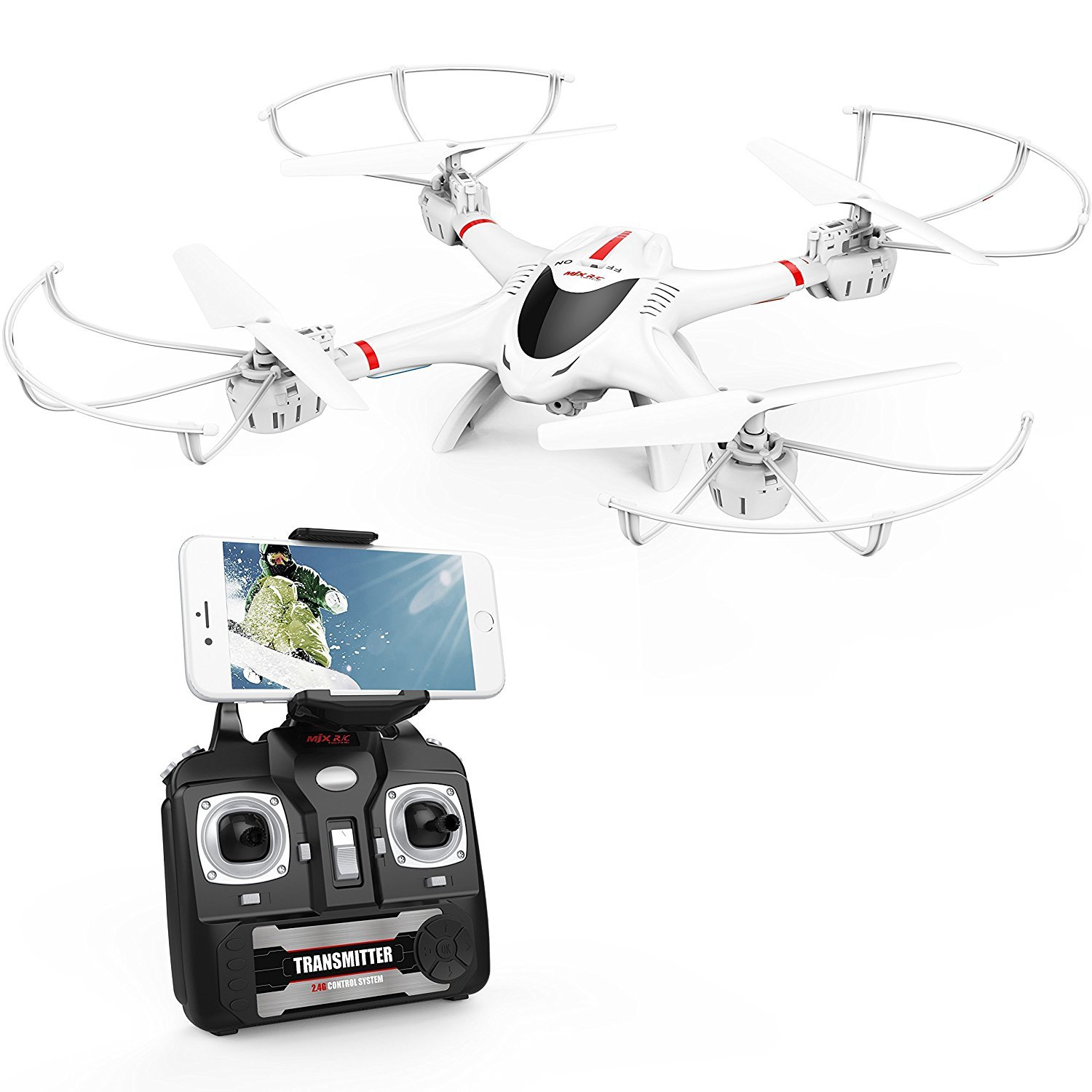 DBPOWER X400W Quadcopter Function Compatible