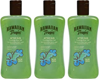 HAWAIIAN Tropic Cooling Aloe - Gel After Sun Aloe Vera para Piel Irritada por el Sol, Loción Refrescante, Hipoalergénica y...