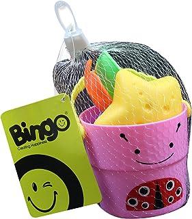 Bingo Beach Bucket- Size 4, Ladybug