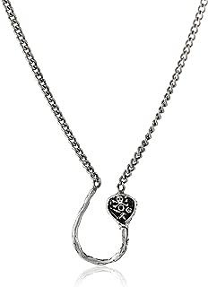 Pyrrha Sterling Silver Charm Holder Pendant Necklace, 28