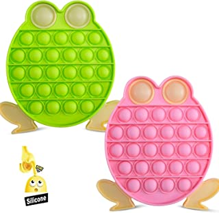 Simple Dimple Fidget Toy, Sensory Fidget Toys Pack Cheap for Kid with Anxiety, Popular Adult Stress Relief Fidget Toy Set for Anxiety, 2 Pack