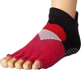 Ladies 2 Pair Elle Sport Yoga Socks Kleidung & Accessoires