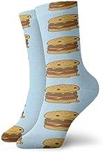 WEEDKEYCAT Hamburg Hot Dog Adult Short Socks Cotton Gym Socks for Mens Womens Yoga Hiking Cycling Running Soccer Sports