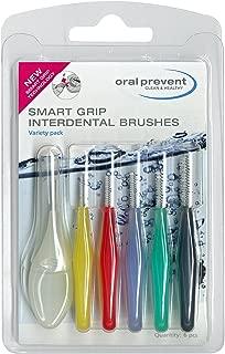 Oral Prevent | Smart Grip Interdental Brush - Variety Pack (Size 1-6)
