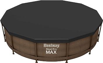 Bestway 58037 - Cobertor Protector de PVC para piscinas Steel Pro, Power Steel, Hydrium Splasher