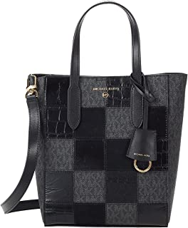 Michael Kors Sinclair Small North/South Shopper Tote Black One Size