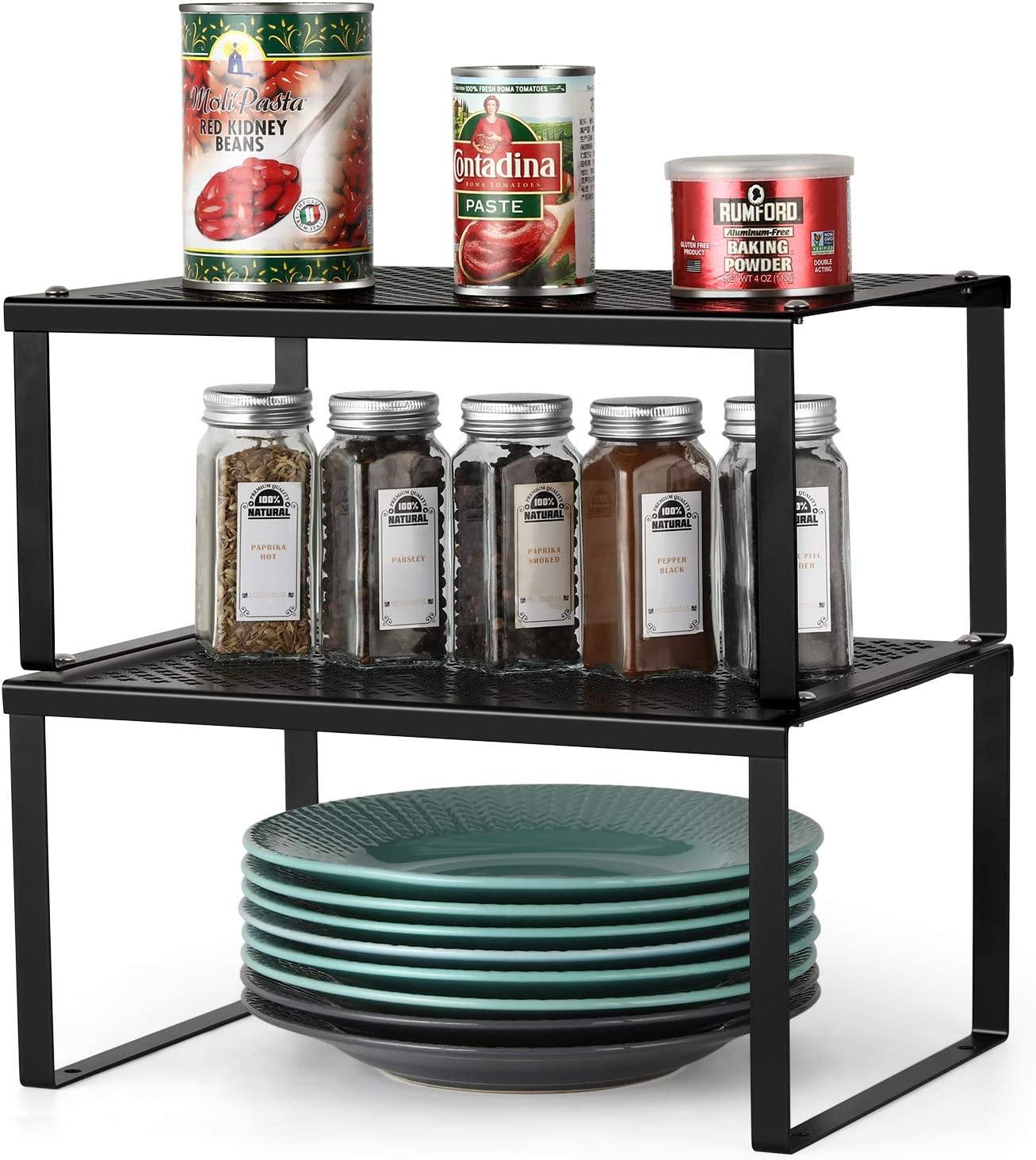 BTY Kitchen Rack Counter Dealing full price reduction Storage Organizer Pack All stores are sold Cabinet Shelf 2