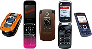 Unliumited Cellular 5 Pack of Fake Cell Phone | Toy Phones for Kids | 1:1 Scale | Non-Working Replica Models Samsung, Nokia, Motorola, Casio
