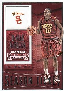 2015-16 Panini Contenders Draft Picks Basketball #24 DeMar DeRozan USC Trojans